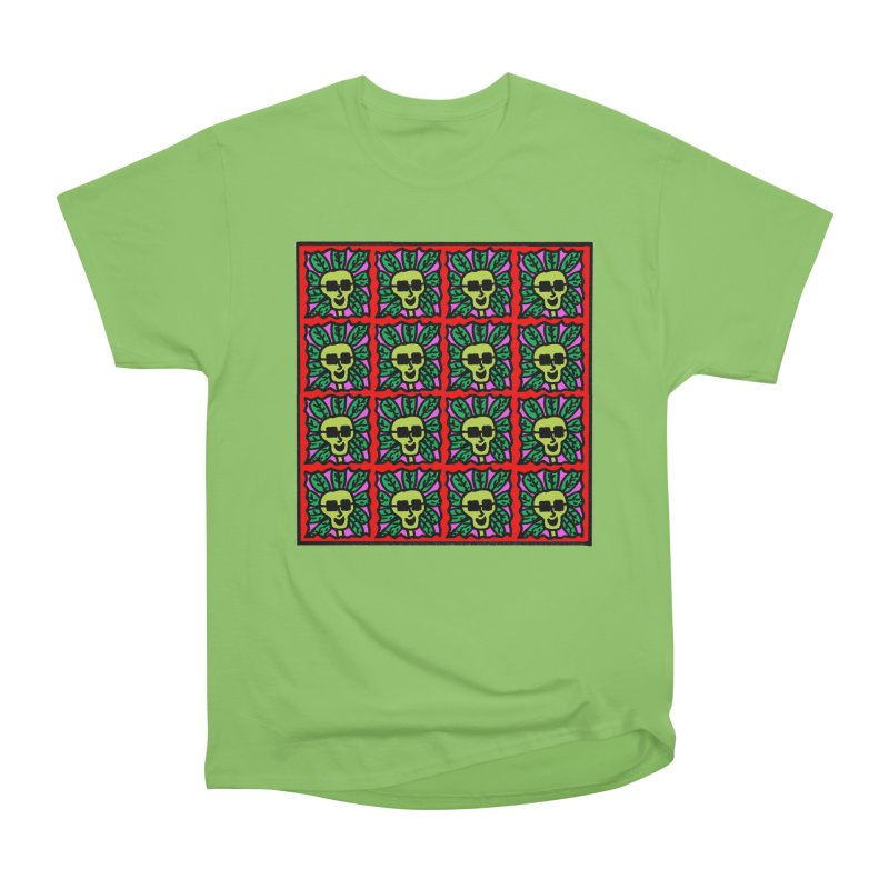 Weed Dude Blotter Head Women's Heavyweight Unisex T-Shirt by Mike Diana T-Shirts Mugs and More!