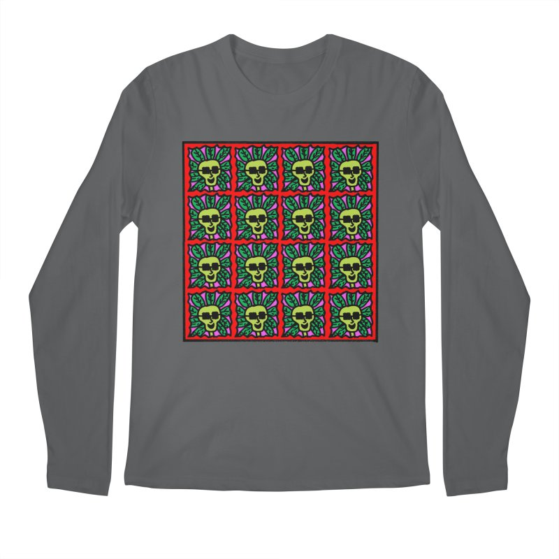 Weed Dude Blotter Head Men's Longsleeve T-Shirt by Mike Diana Threadless