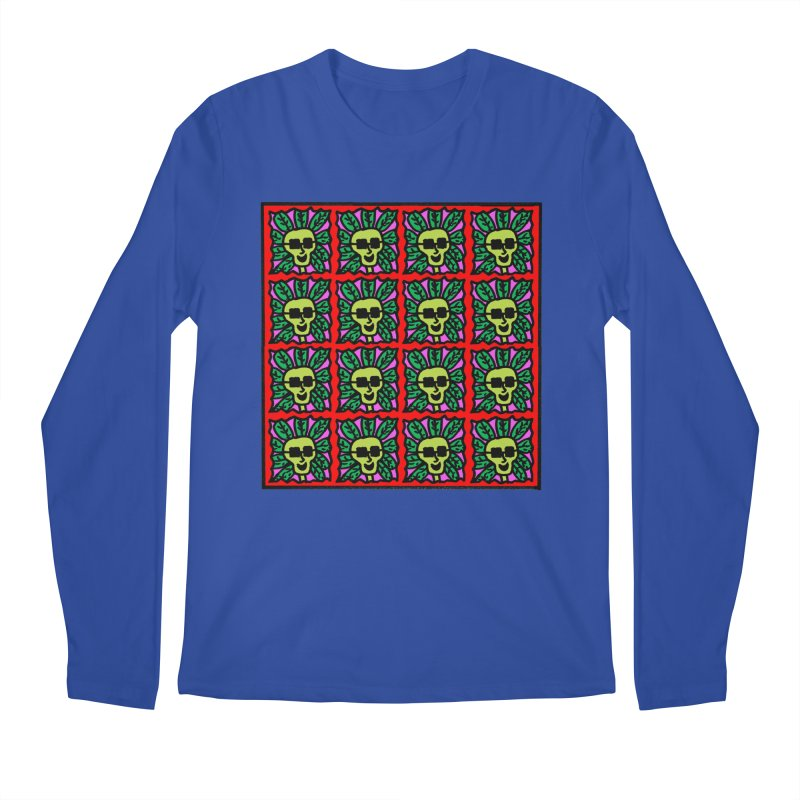 Weed Dude Blotter Head Men's Regular Longsleeve T-Shirt by Mike Diana T-Shirts Mugs and More!