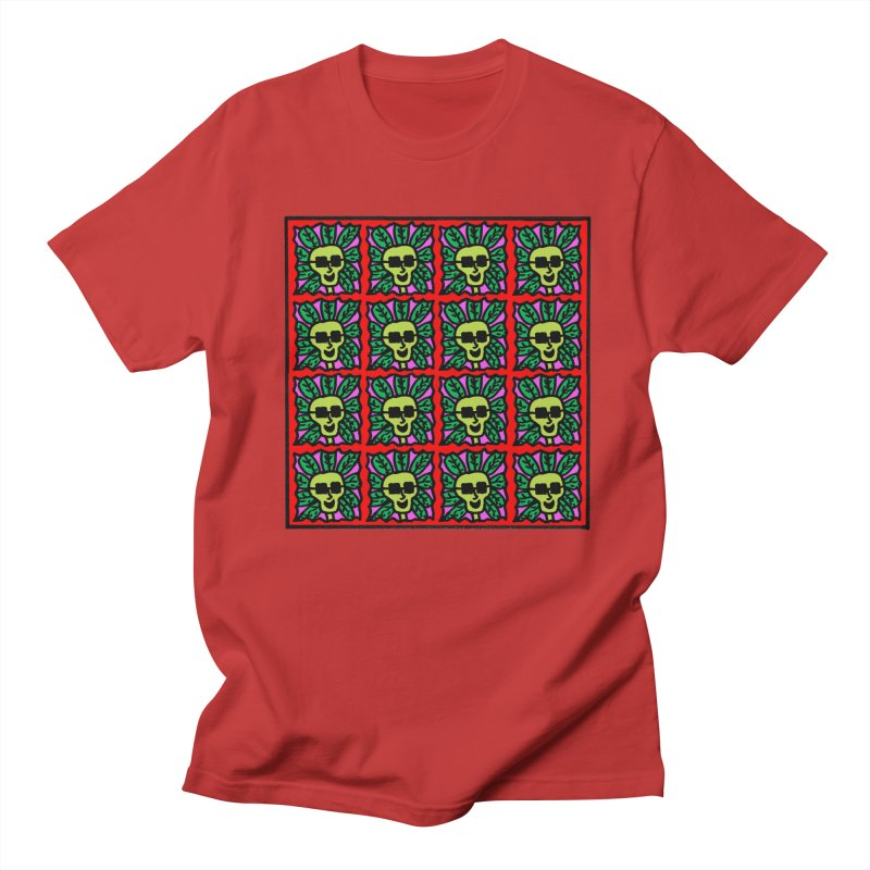 Weed Dude Blotter Head Men's Regular T-Shirt by Mike Diana T-Shirts Mugs and More!