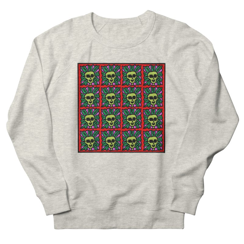 Weed Dude Blotter Head Women's French Terry Sweatshirt by Mike Diana T-Shirts Mugs and More!