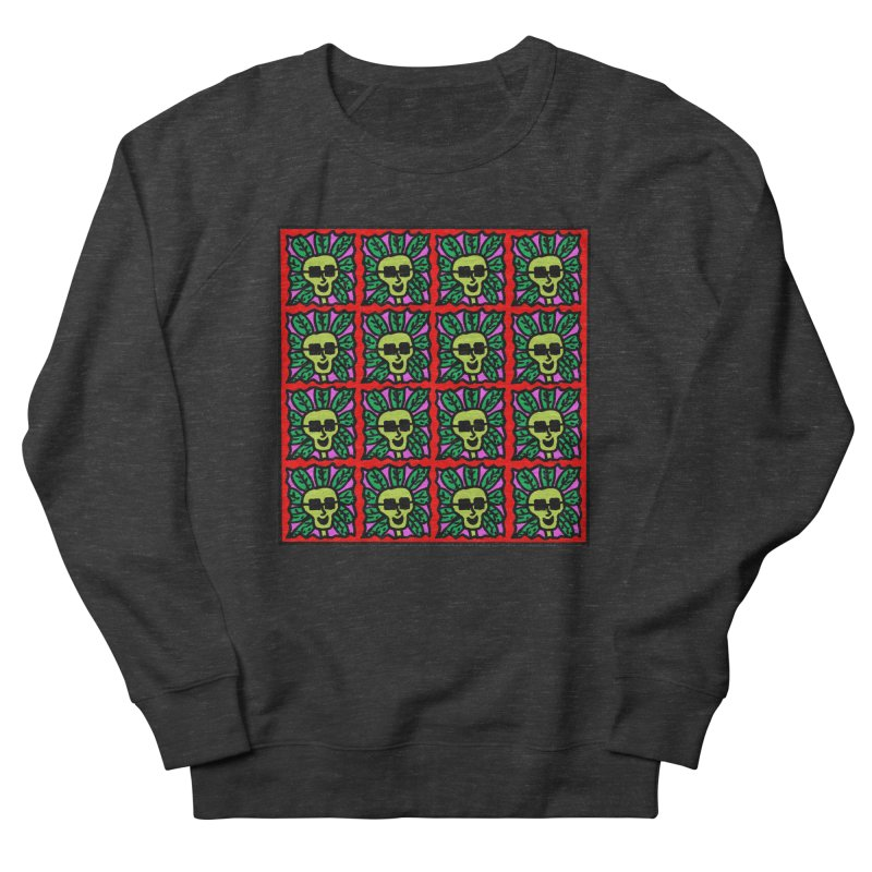 Weed Dude Blotter Head Men's French Terry Sweatshirt by Mike Diana T-Shirts Mugs and More!