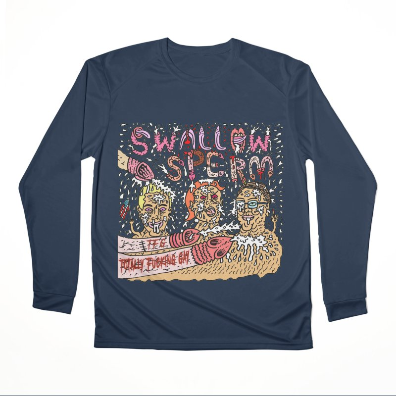 TFG - Swallow Sperm Men's Performance Longsleeve T-Shirt by Mike Diana T-Shirts Mugs and More!