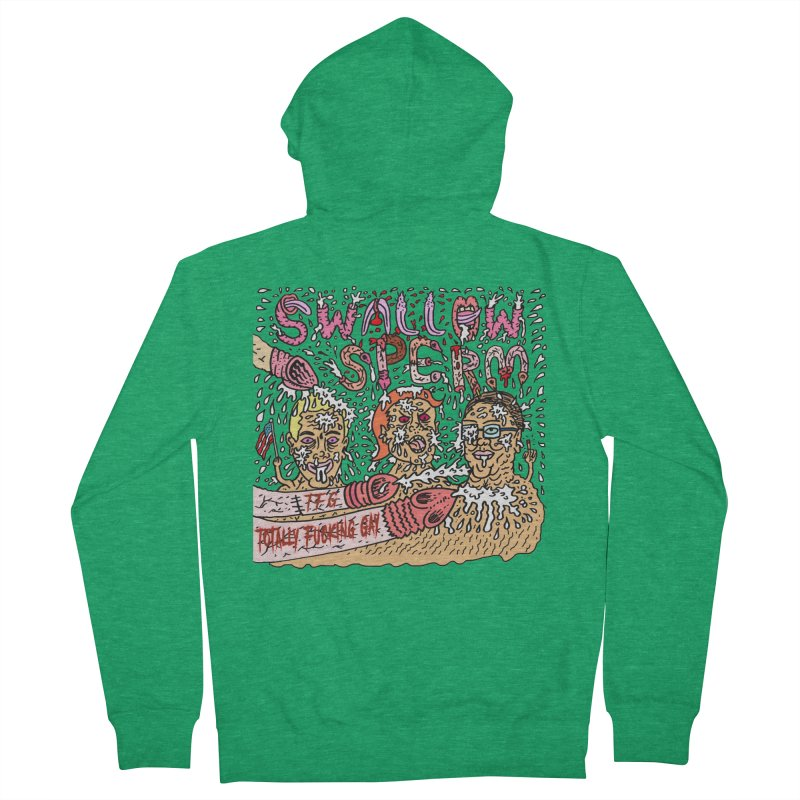 TFG - Swallow Sperm Women's Zip-Up Hoody by Mike Diana Threadless