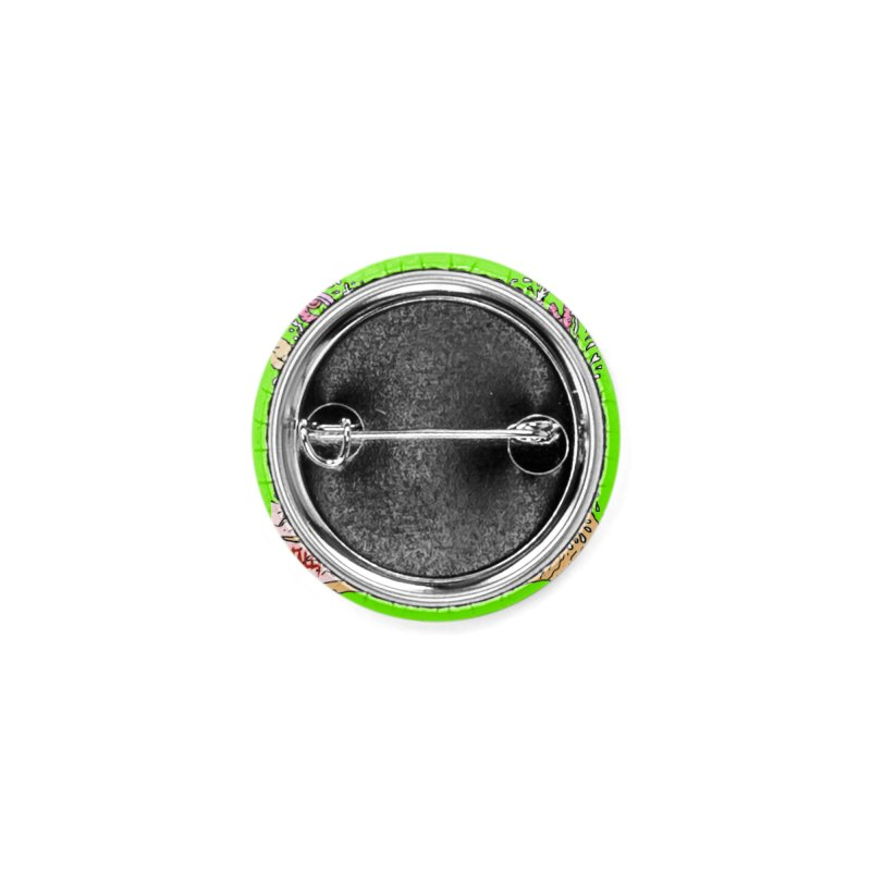 TFG - Swallow Sperm Accessories Button by Mike Diana Threadless