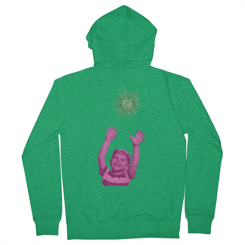 Reach For It Women's French Terry Zip-Up Hoody by Mike Diana T-Shirts Mugs and More!