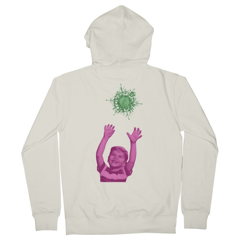 Reach For It Men's French Terry Zip-Up Hoody by Mike Diana T-Shirts Mugs and More!