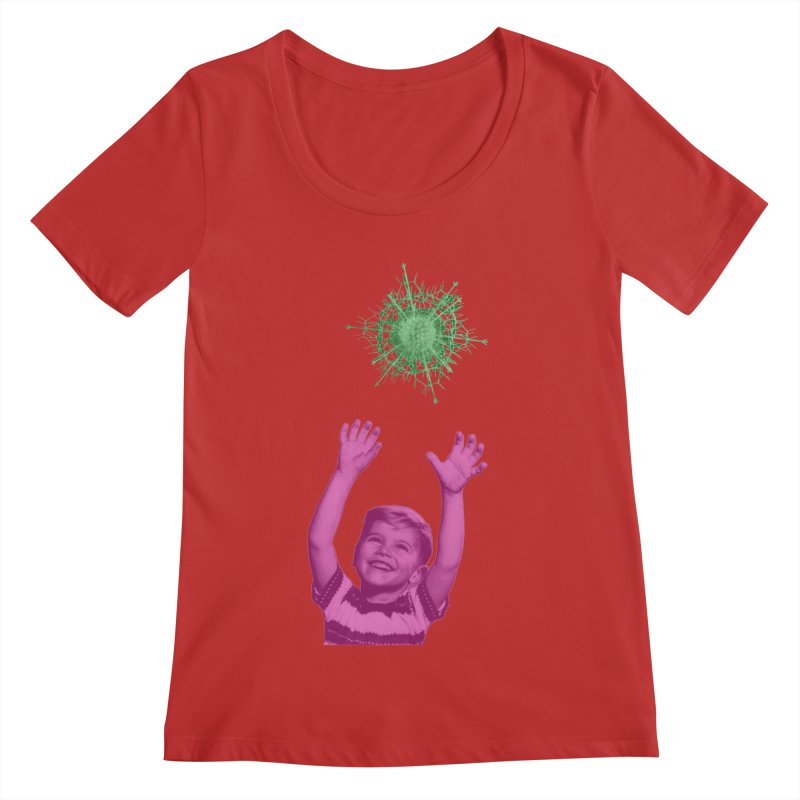 Reach For It Women's Regular Scoop Neck by Mike Diana T-Shirts Mugs and More!