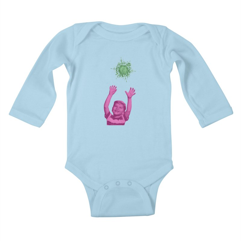 Reach For It Kids Baby Longsleeve Bodysuit by Mike Diana T-Shirts Mugs and More!