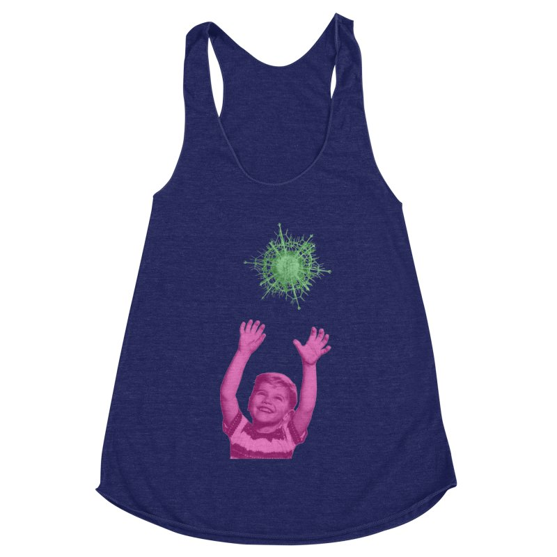 Reach For It Women's Racerback Triblend Tank by Mike Diana T-Shirts Mugs and More!