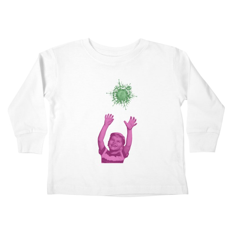 Reach For It Kids Toddler Longsleeve T-Shirt by Mike Diana T-Shirts Mugs and More!