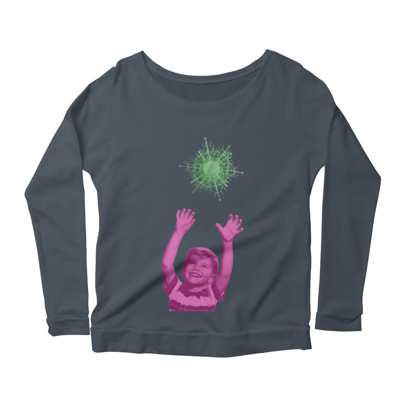 Reach For It Women's Scoop Neck Longsleeve T-Shirt by Mike Diana T-Shirts Mugs and More!
