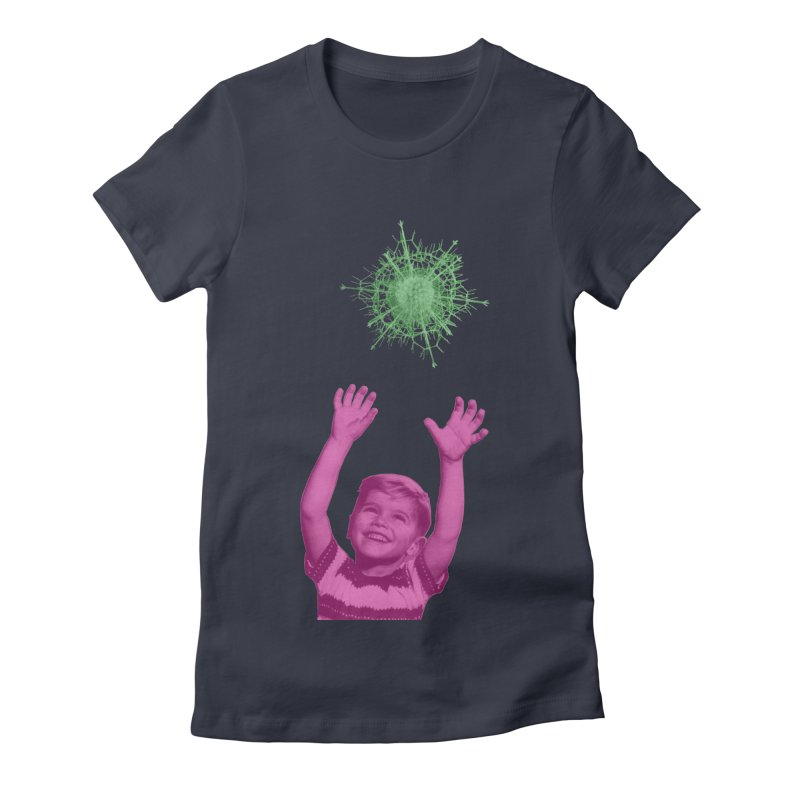 Reach For It Women's Fitted T-Shirt by Mike Diana T-Shirts Mugs and More!