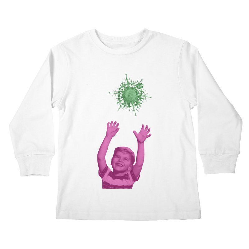 Reach For It Kids Longsleeve T-Shirt by Mike Diana T-Shirts Mugs and More!