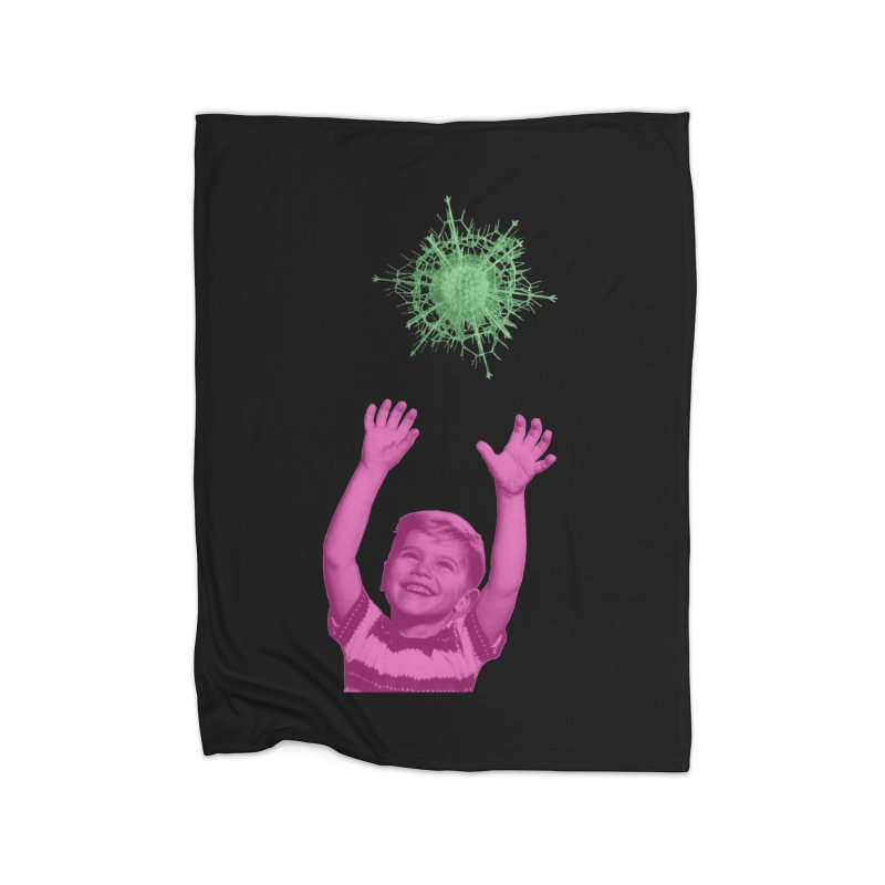 Reach For It Home Fleece Blanket Blanket by Mike Diana T-Shirts Mugs and More!