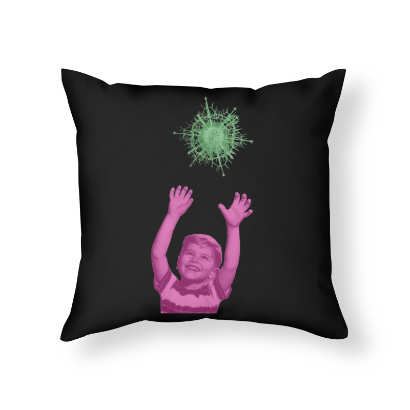 Reach For It Home Throw Pillow by Mike Diana T-Shirts Mugs and More!