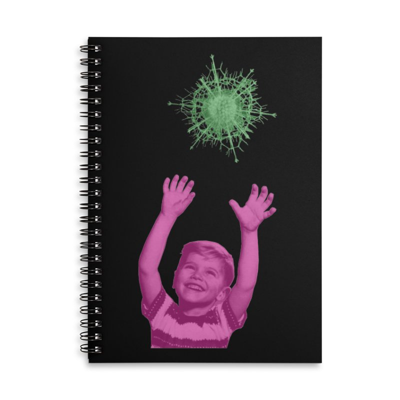 Reach For It Accessories Lined Spiral Notebook by Mike Diana T-Shirts Mugs and More!