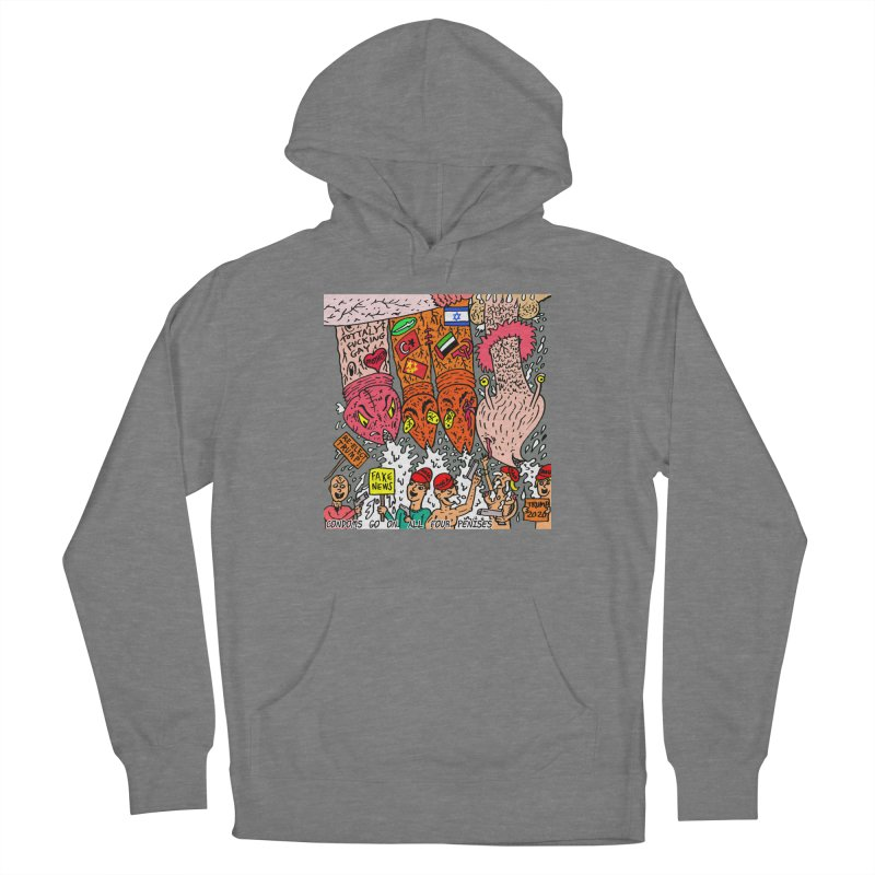TFG - Condoms Go On All Four Penises Women's Pullover Hoody by Mike Diana Threadless