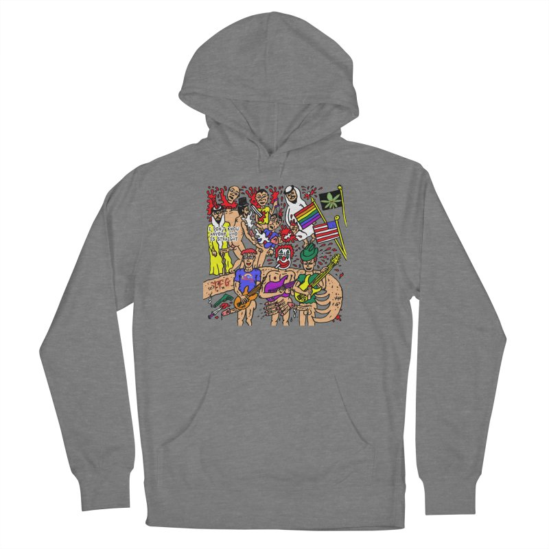 TFG - I Don't Know Anyone Who Is Straight Women's Pullover Hoody by Mike Diana Threadless