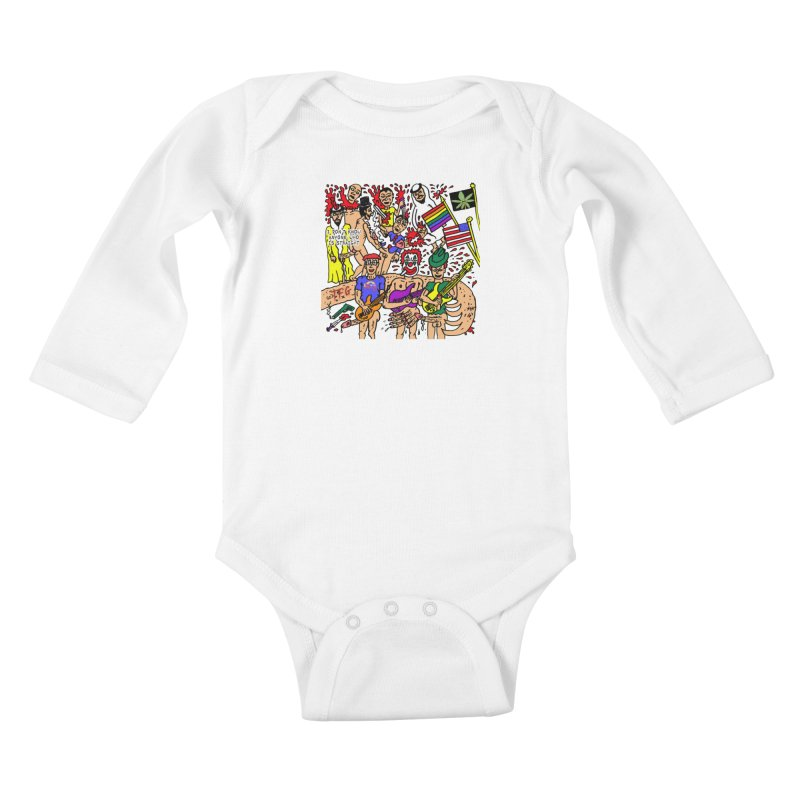 TFG - I Don't Know Anyone Who Is Straight Kids Baby Longsleeve Bodysuit by Mike Diana T-Shirts Mugs and More!