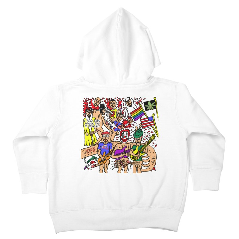 TFG - I Don't Know Anyone Who Is Straight Kids Toddler Zip-Up Hoody by Mike Diana T-Shirts Mugs and More!