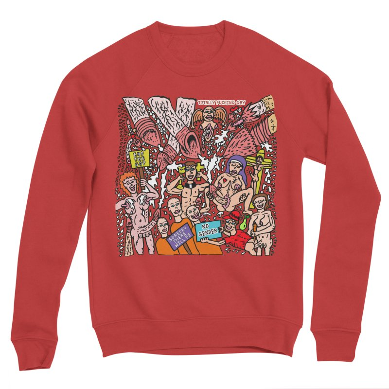 TFG - Someday There Will Be No Gender Women's Sponge Fleece Sweatshirt by Mike Diana T-Shirts Mugs and More!