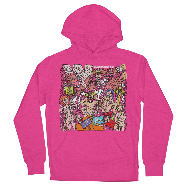 TFG - Someday There Will Be No Gender Women's French Terry Pullover Hoody by Mike Diana T-Shirts Mugs and More!
