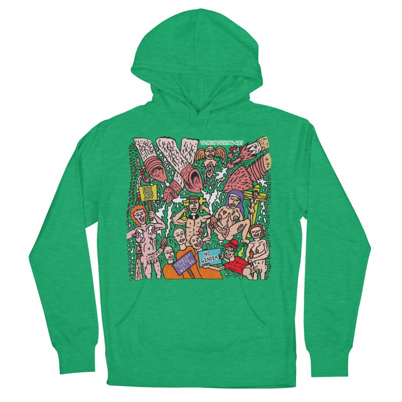 TFG - Someday There Will Be No Gender Men's French Terry Pullover Hoody by Mike Diana T-Shirts Mugs and More!