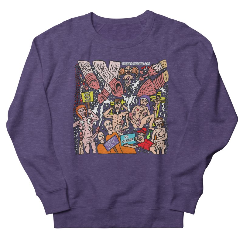 TFG - Someday There Will Be No Gender Men's French Terry Sweatshirt by Mike Diana T-Shirts Mugs and More!