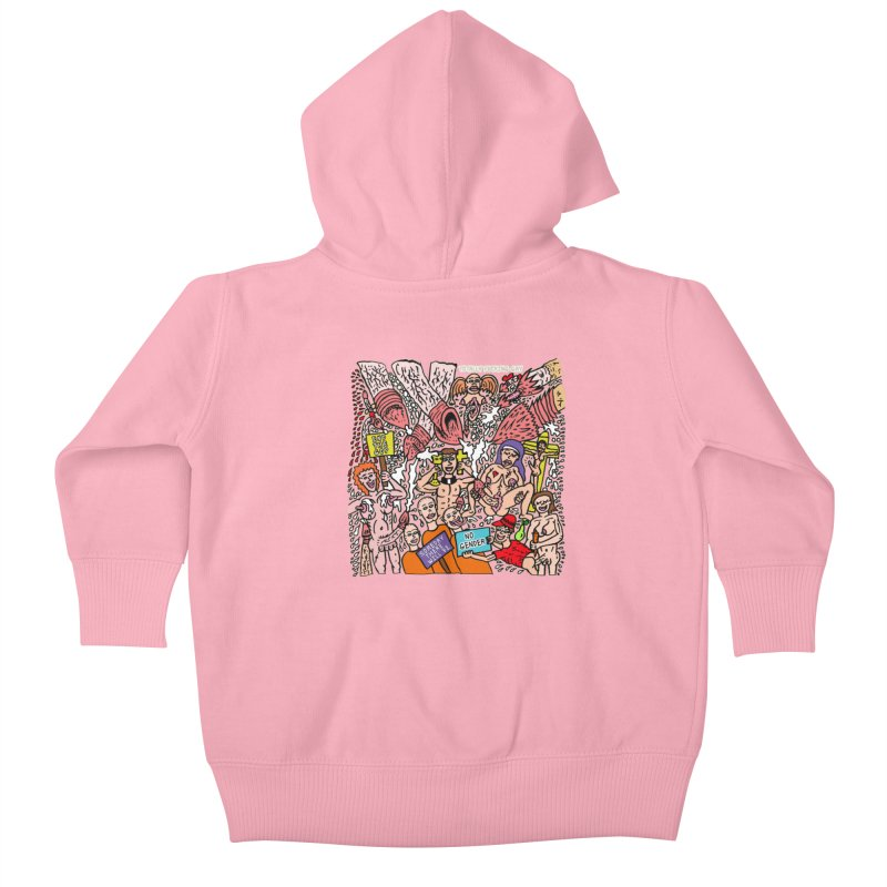 TFG - Someday There Will Be No Gender Kids Baby Zip-Up Hoody by Mike Diana T-Shirts Mugs and More!