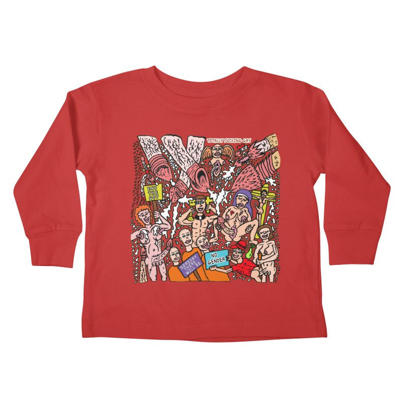 TFG - Someday There Will Be No Gender Kids Toddler Longsleeve T-Shirt by Mike Diana T-Shirts Mugs and More!