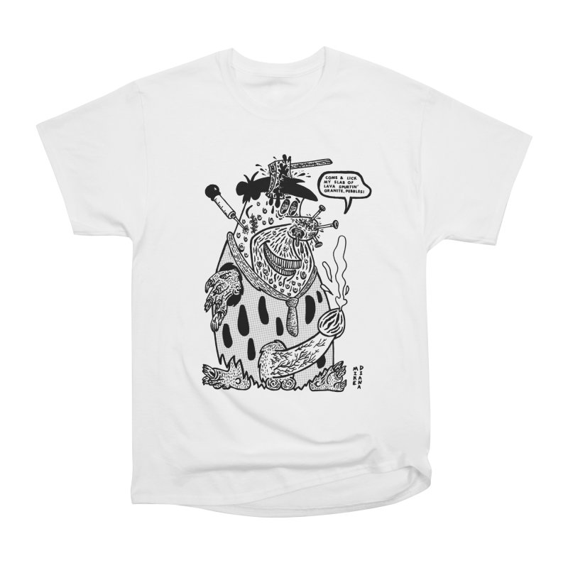 Boiled Angel Fred - BW Women's T-Shirt by Mike Diana Threadless