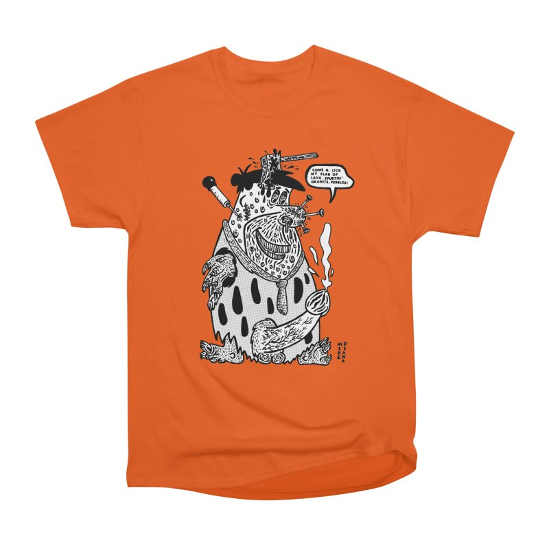 Boiled Angel Fred - BW Men's T-Shirt by Mike Diana Threadless