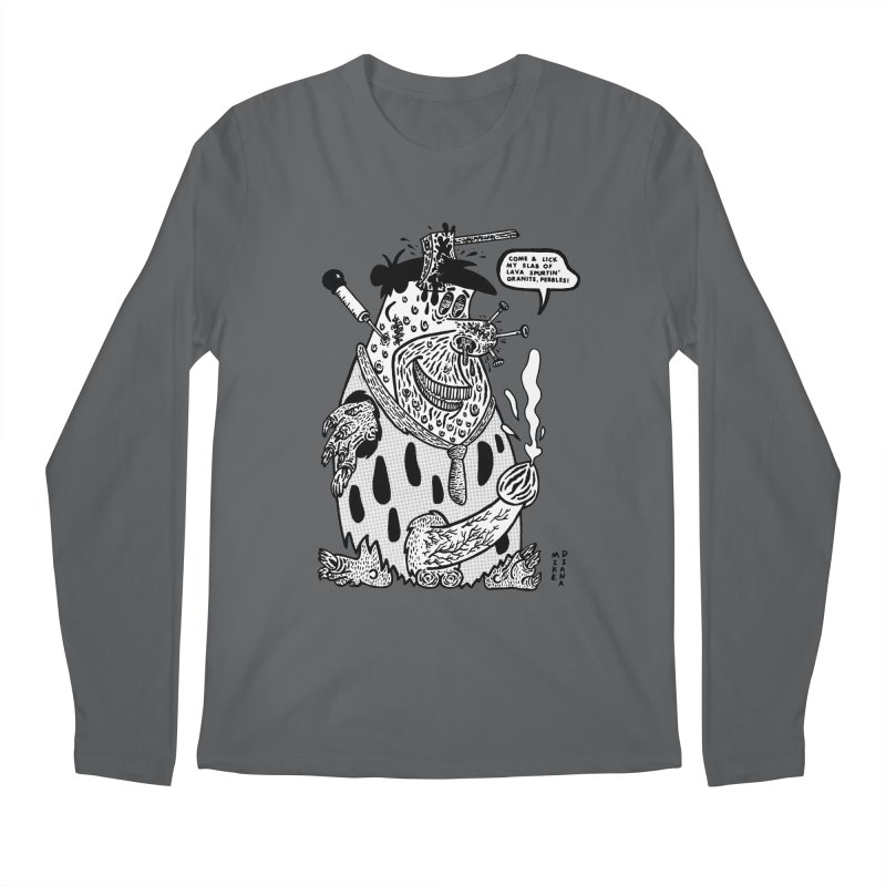 Boiled Angel Fred - BW Men's Longsleeve T-Shirt by Mike Diana Threadless