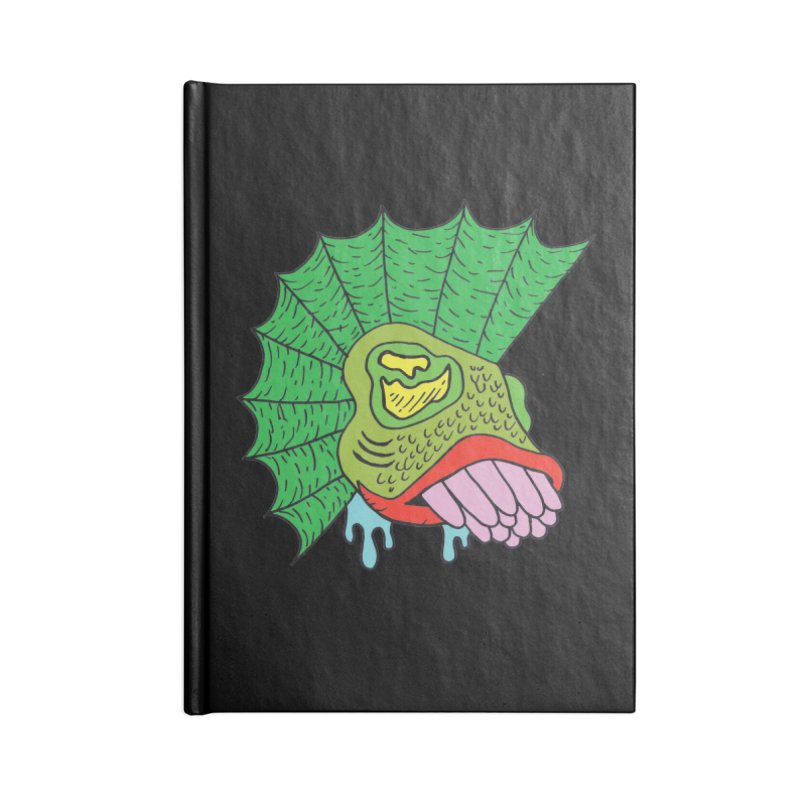Boggy Accessories Notebook by Mike Diana T-Shirts! Horrible Ugly Heads Limited E