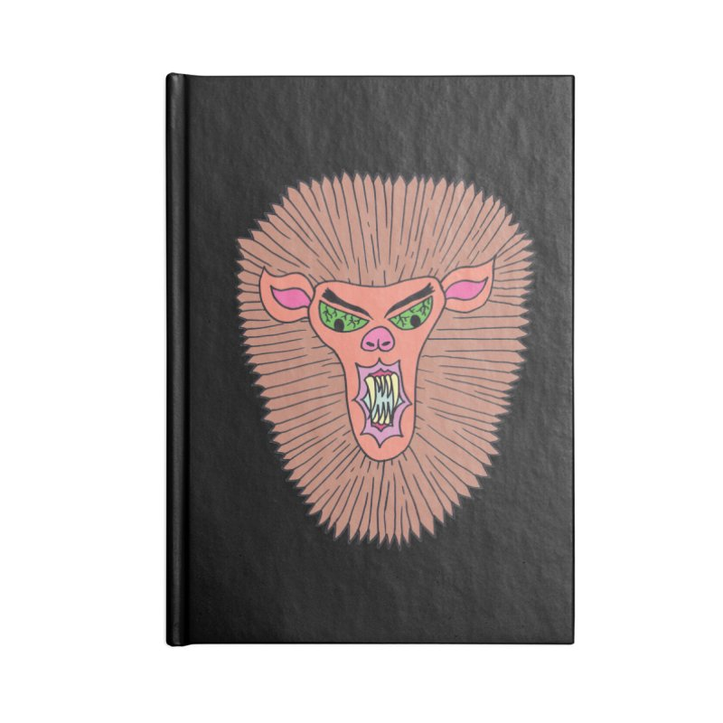 Cleve Accessories Notebook by Mike Diana T-Shirts! Horrible Ugly Heads Limited E