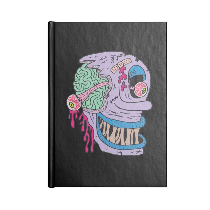 Happy Accessories Notebook by Mike Diana T-Shirts! Horrible Ugly Heads Limited E