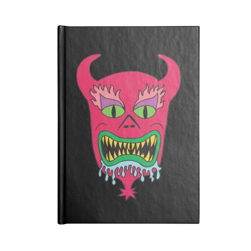 Leroy Accessories Notebook by Mike Diana T-Shirts! Horrible Ugly Heads Limited E