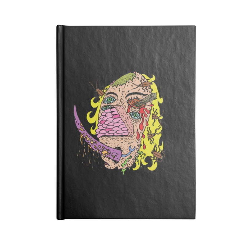 Loosey Accessories Notebook by Mike Diana T-Shirts! Horrible Ugly Heads Limited E