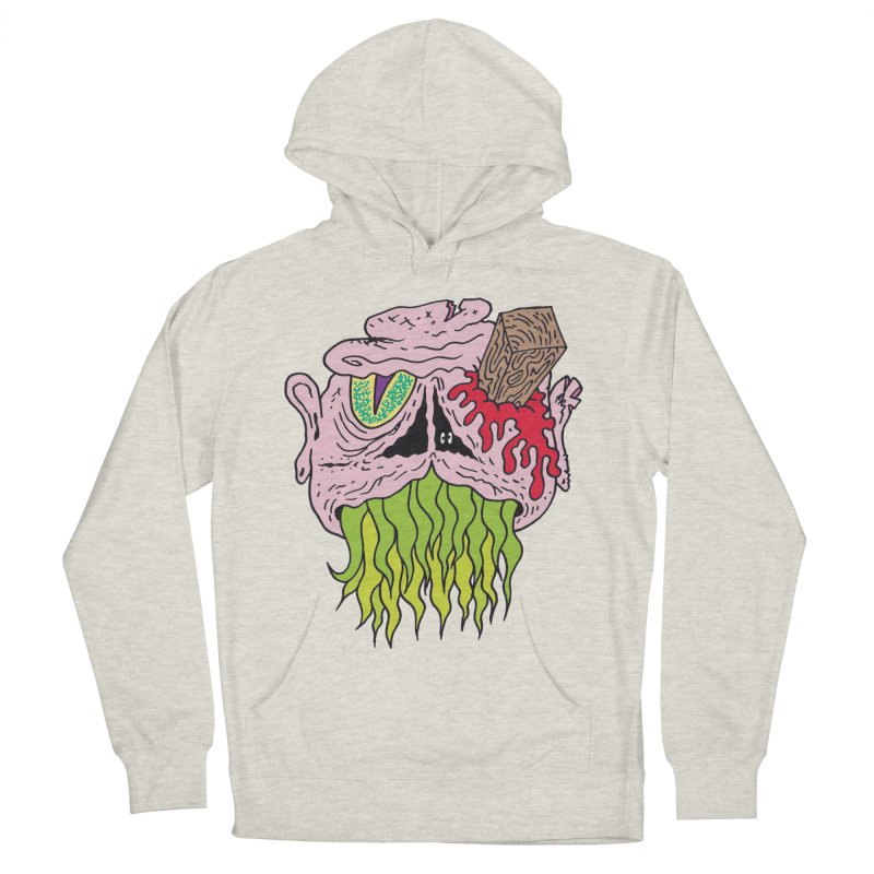Slithers Men's Pullover Hoody by Mike Diana T-Shirts! Horrible Ugly Heads Limited E