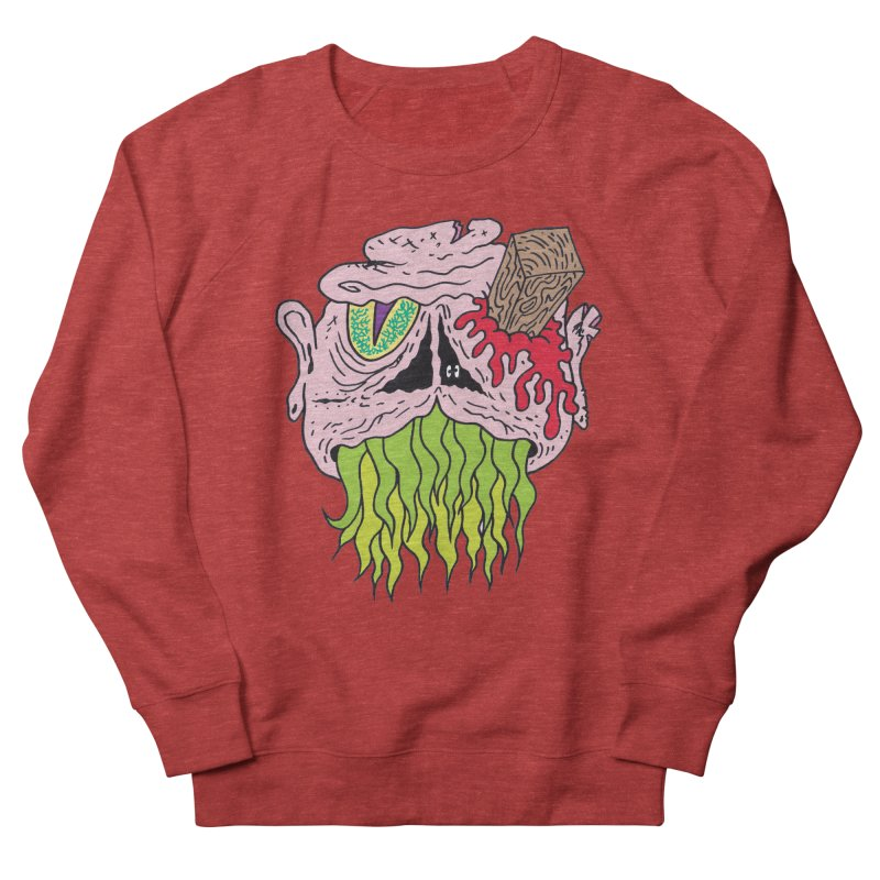 Slithers Men's Sweatshirt by Mike Diana T-Shirts! Horrible Ugly Heads Limited E