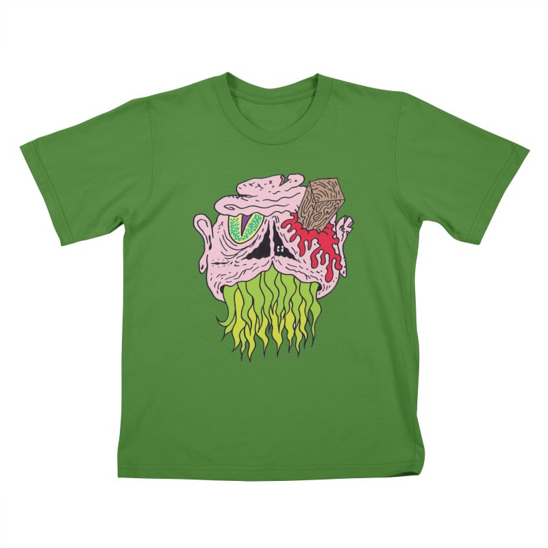 Slithers Kids T-shirt by Mike Diana T-Shirts! Horrible Ugly Heads Limited E