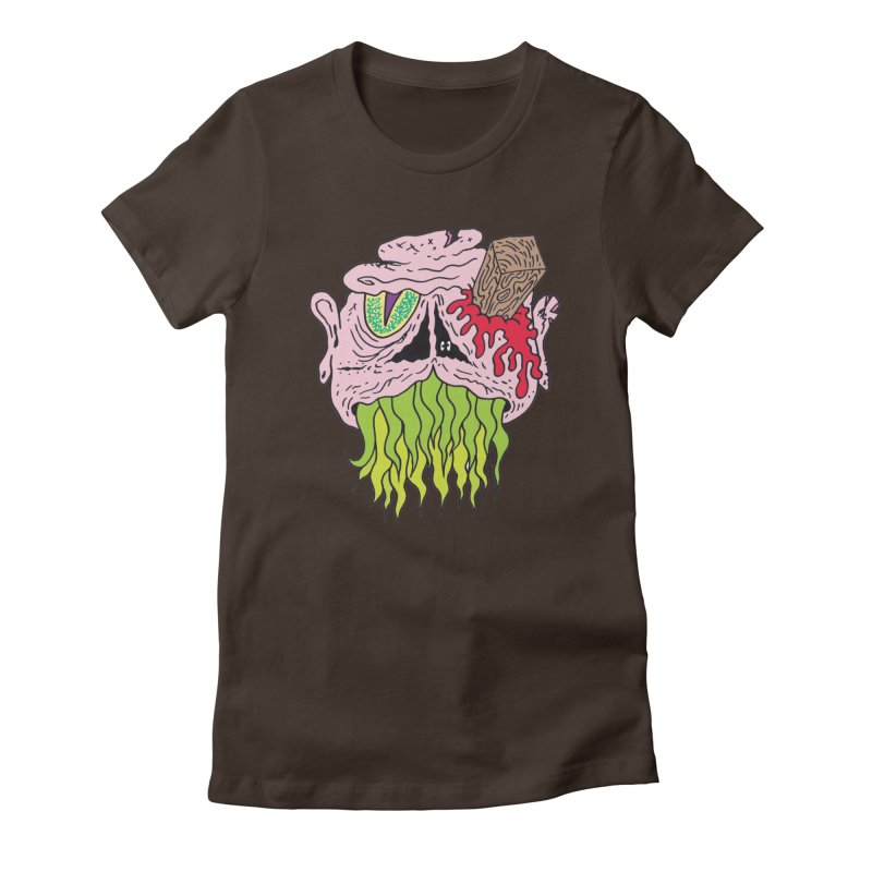 Slithers   by Mike Diana T-Shirts! Horrible Ugly Heads Limited E