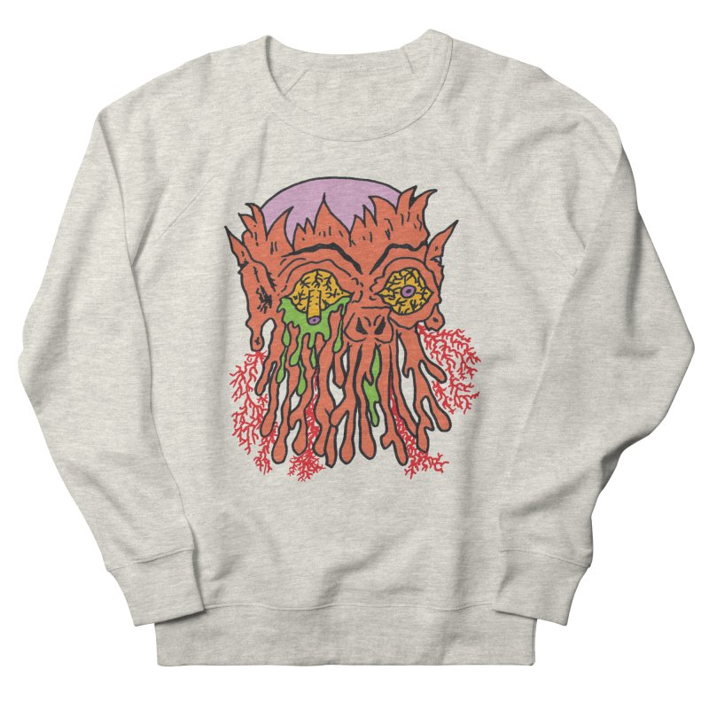 Uncle Melty Women's Sweatshirt by Mike Diana T-Shirts! Horrible Ugly Heads Limited E