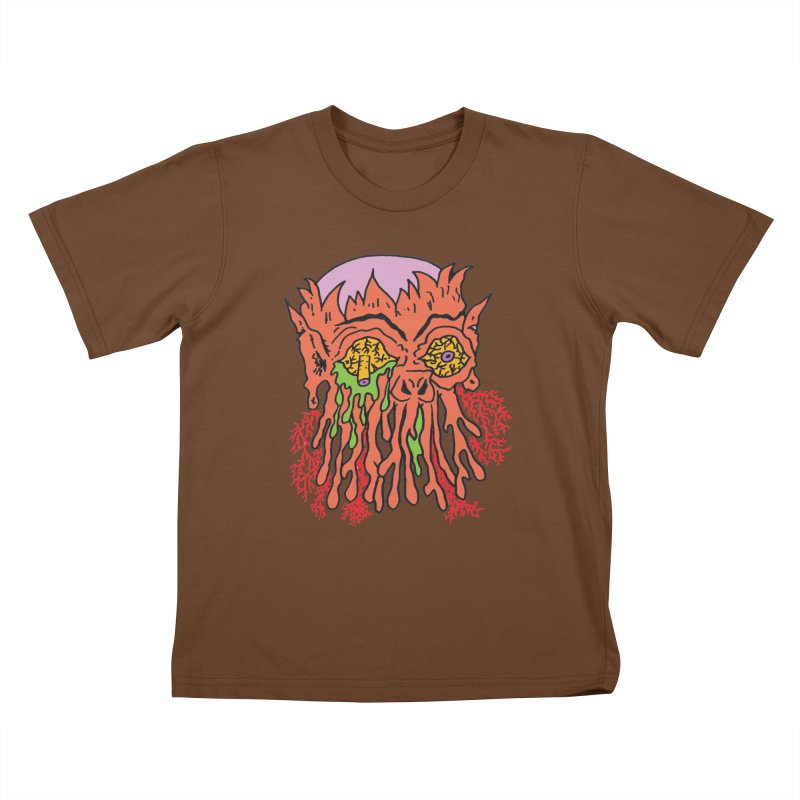 Uncle Melty Kids T-shirt by Mike Diana T-Shirts! Horrible Ugly Heads Limited E
