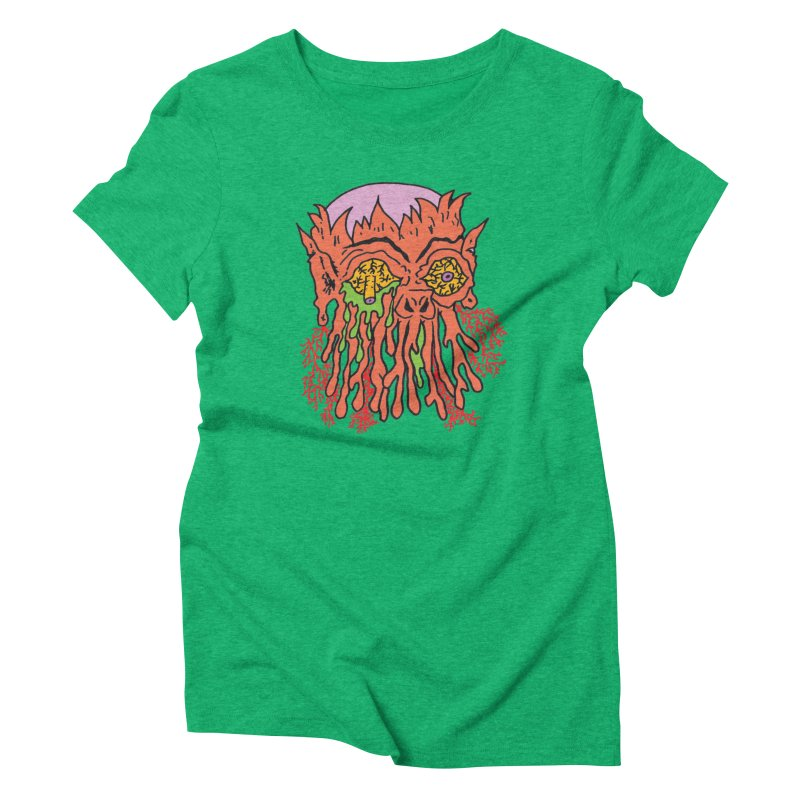 Uncle Melty   by Mike Diana T-Shirts! Horrible Ugly Heads Limited E