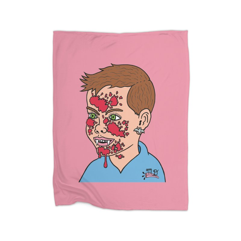 Vampire Kid Home Blanket by Mike Diana T-Shirts Mugs and More!