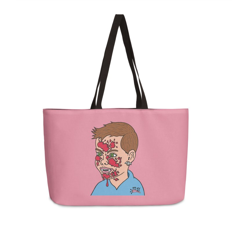 Vampire Kid Accessories Weekender Bag Bag by Mike Diana T-Shirts Mugs and More!