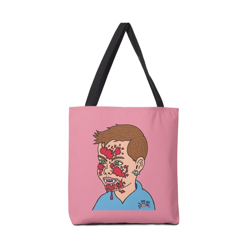 Vampire Kid Accessories Bag by Mike Diana T-Shirts! Horrible Ugly Heads Limited E