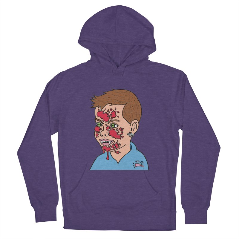 Vampire Kid Men's Pullover Hoody by Mike Diana T-Shirts! Horrible Ugly Heads Limited E